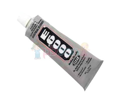 """דבק E6000 לבדים 30 מ""""ל בשפורפרת"""