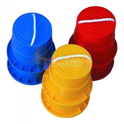 תמונה של זוג קביים פלסטיק לילדים