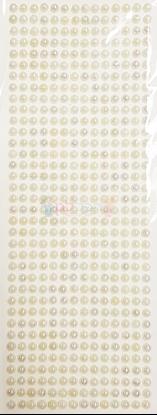 """תמונה של מדבקות אבני קריסטל ארוך - עיגולים קטן פנינה מק""""ט: GM173"""