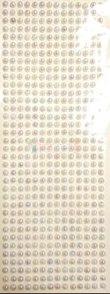 """תמונה של מדבקות אבני קריסטל ארוך - עיגולים קטן לבן מק""""ט: GM170"""