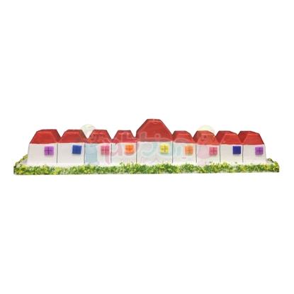 תמונה של חנוכיה במבוק בתים