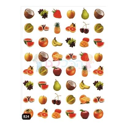 תמונה של מדבקות פרוצס פירות קטן 10 דף