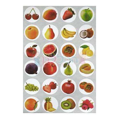 תמונה של מדבקות פרוצס פירות 10 דף