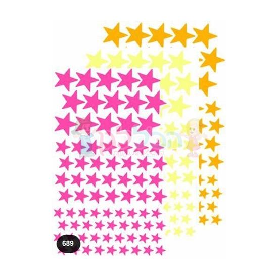 תמונה של מדבקות כוכבים