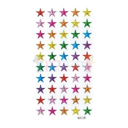 תמונה של מדבקות קריסטל כוכבים