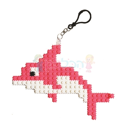 תמונה של מחזיק מפתחות פאזל דולפין