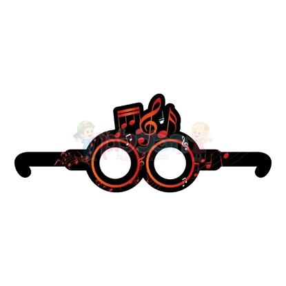 תמונה של משקפיים דגם תווים 10יחי'