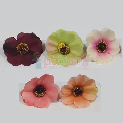 תמונה של פרח שטוח ליצירה