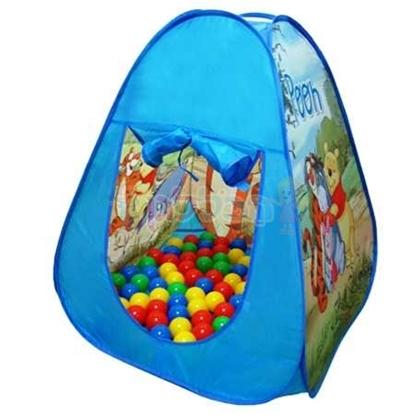 תמונה של אוהל כדורים דיסני כולל 100 כדורים
