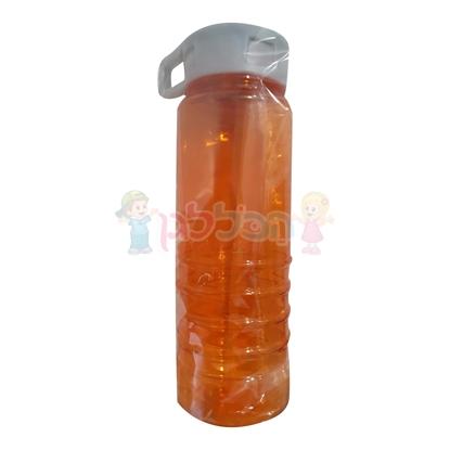 תמונה של בקבוק פלסטיק שקוף