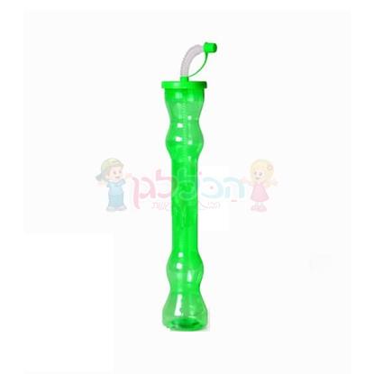 תמונה של בקבוק פלסטיק ארוך
