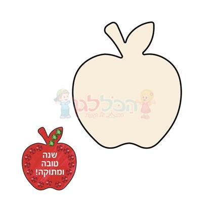 תמונה של קרטון ביצוע תפוח