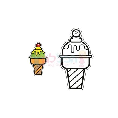 תמונה של יצירה תליון גלידה 36 יח'