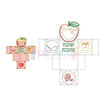 תמונה של קופסה להרכבה תפוח 20 יחי'