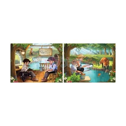 תמונה של תיקיה ילדים ליד נהר (דגם7)