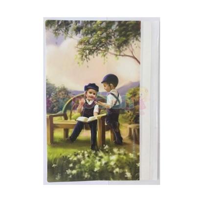 תמונה של מחברת קשר בנים לומדים בגינה (דגם 12)