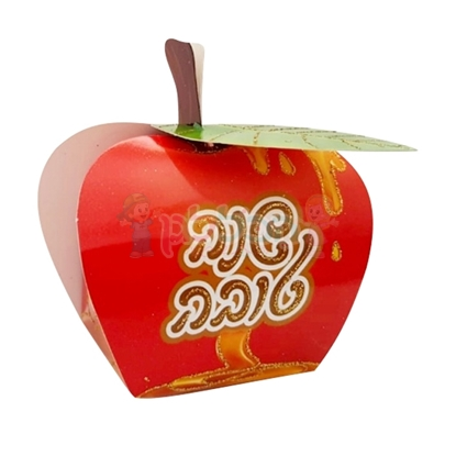 תמונה של קופסא תפוח שנה טובה אדום למילוי 20 יח'