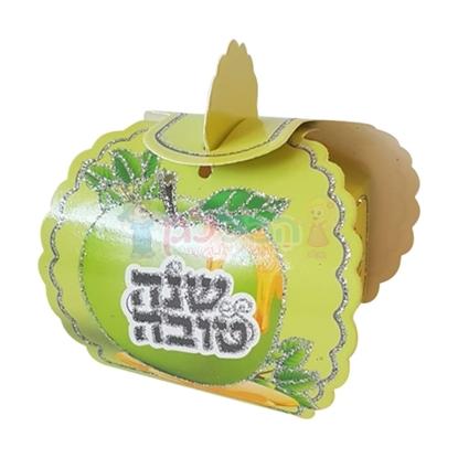 תמונה של קופסא תפוח שנה טובה ירוק למילוי 20 יח'